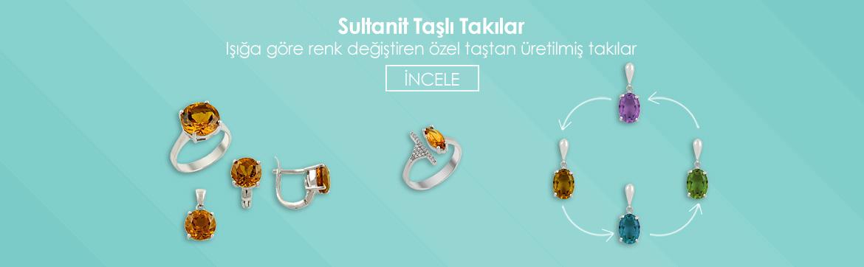 Sultanit Taşlı Takılar
