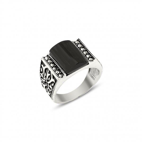 Marcasite Stone Ring - R14438