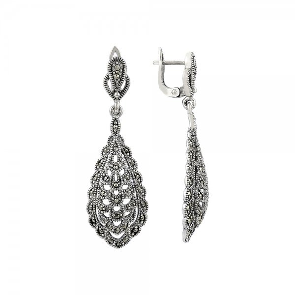 Marcasite Earrings - E81755
