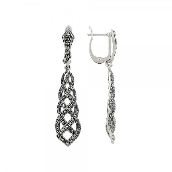 Marcasite Earrings - E81754