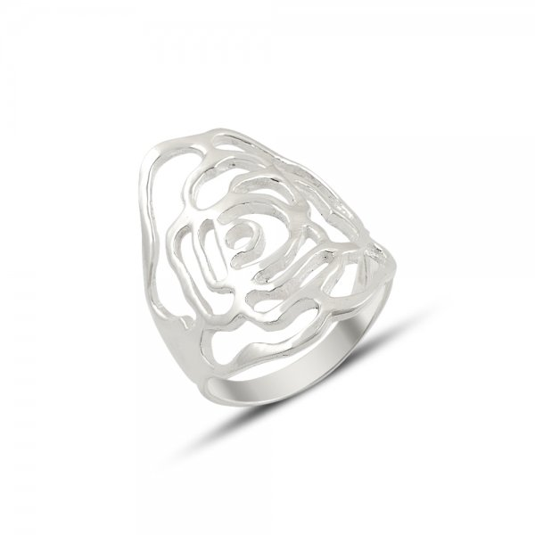Floral Pattern Ring - R81874