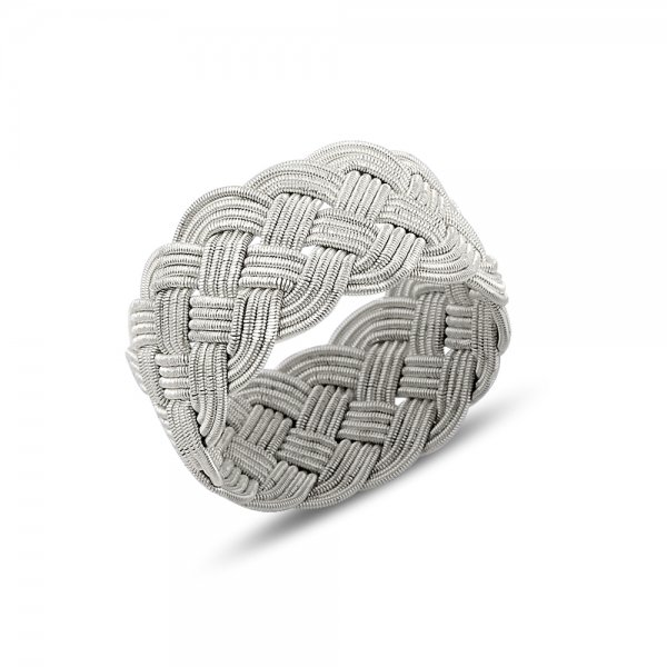 Knitted Kazaz Ring - R14462
