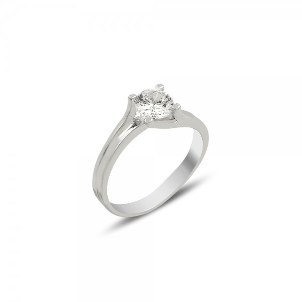 CZ Solitaire Ring - R82033