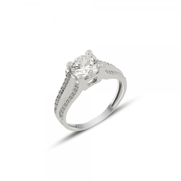 CZ Solitaire Ring - R81895
