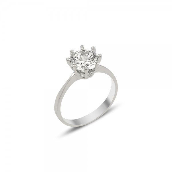 CZ Solitaire Ring - R82029