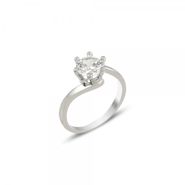 CZ Solitaire Ring - R82030