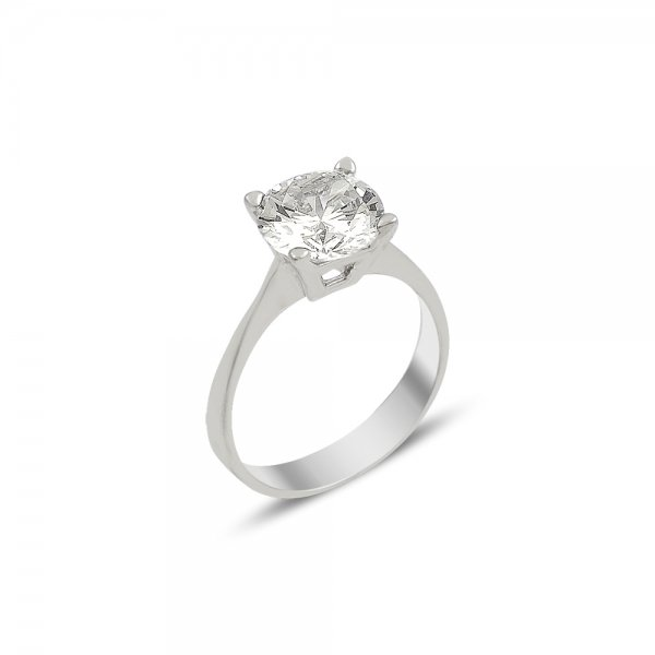 CZ Solitaire Ring - R82031