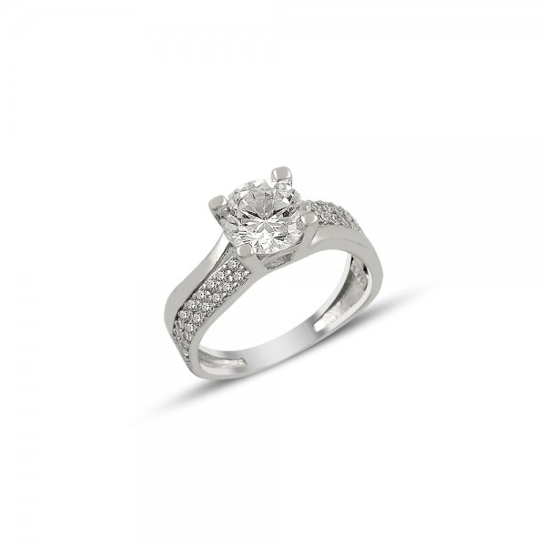 CZ Solitaire Ring - R81890