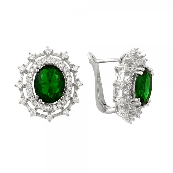 CZ Earrings - E14301