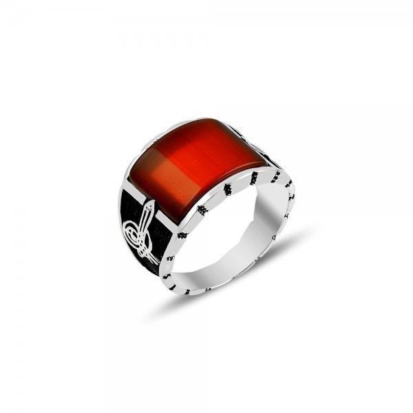 Gemstone Tughra Ring - R82130