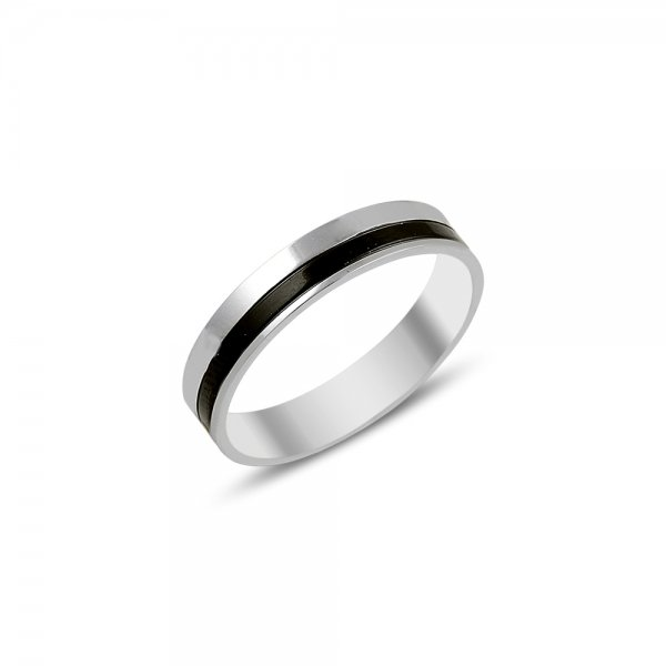 Dual Color Stainless Steel Ring - SS00062