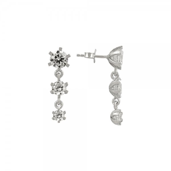 CZ Earrings - E81939