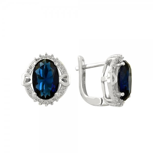 CZ Earrings - E14302