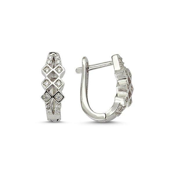 CZ Earrings  - E83229