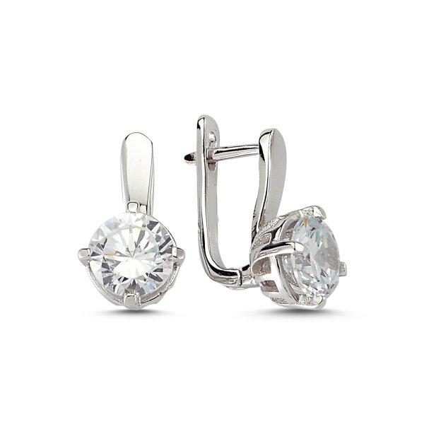 CZ Earrings  - E83258
