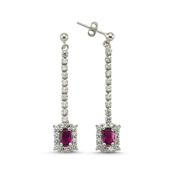 CZ Earrings  - E83278