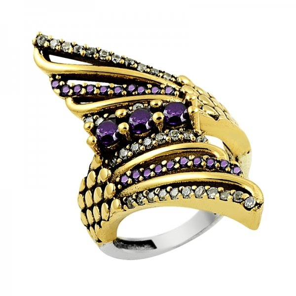 Ottoman Style Ring - R14079