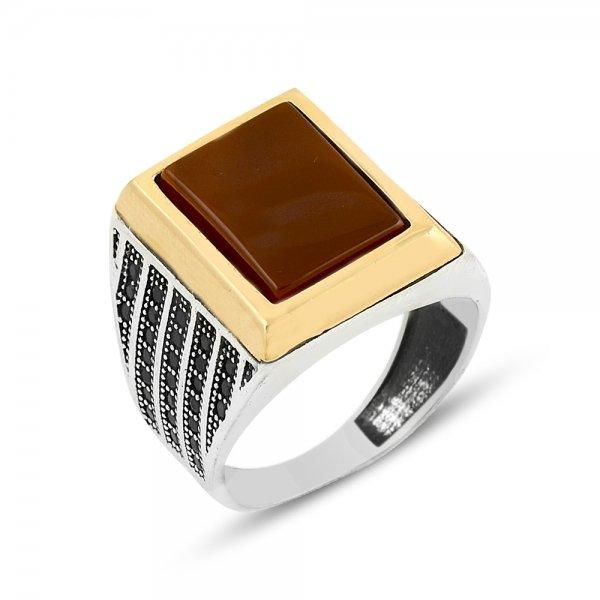 Gemstone Ottoman Style Ring - R14082