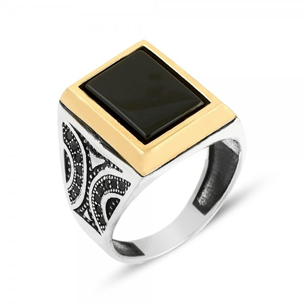 Gemstone Ottoman Style Ring - R14087