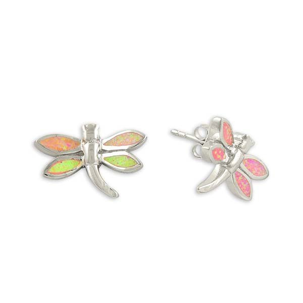 Opal Dragonfly Earrings - E13750