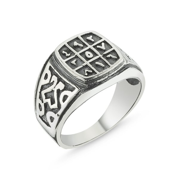 Arabic Abjad Numerology Ring - R00687
