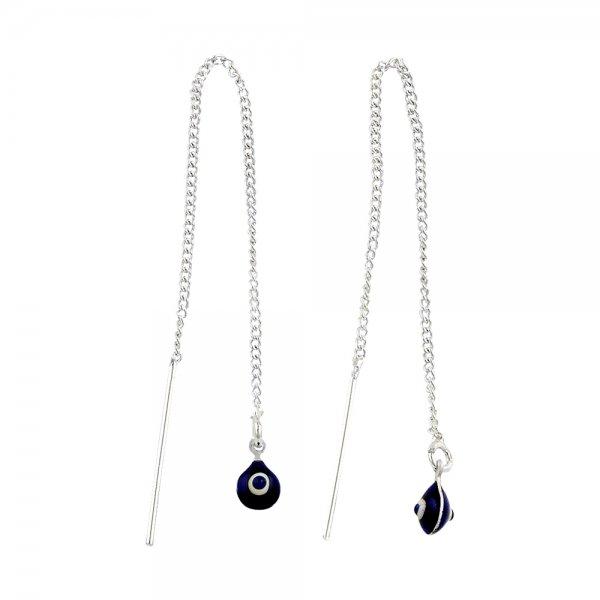 Evil Eye Threader Earrings - E82164