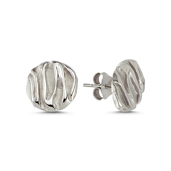 Stoneless Round Earring - E82278