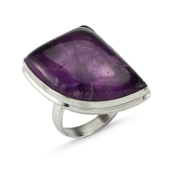 Gemstone Amethyst Ring  - R82351