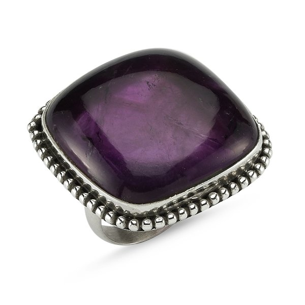 Gemstone Amethyst Ring - R82353