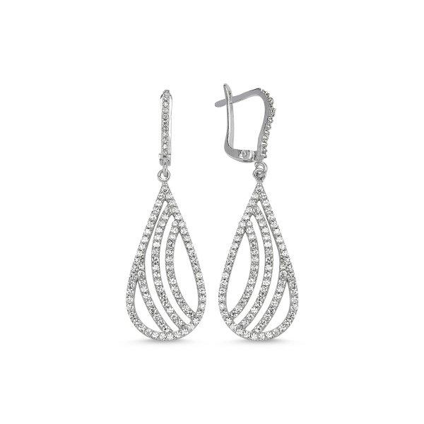 CZ Earrings  - E82470