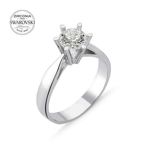 Swarovski Zirconia Solitaire Ring - R82507