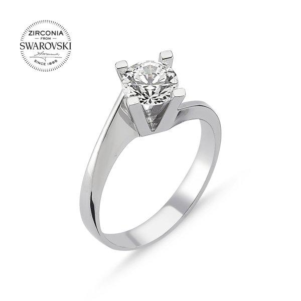 Swarovski Zirconia Solitaire Ring - R82510