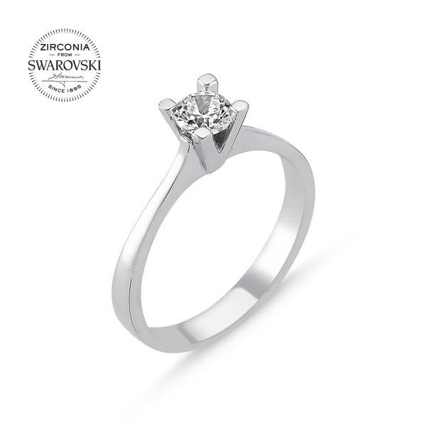 Swarovski Zirconia Solitaire Ring  - R82513