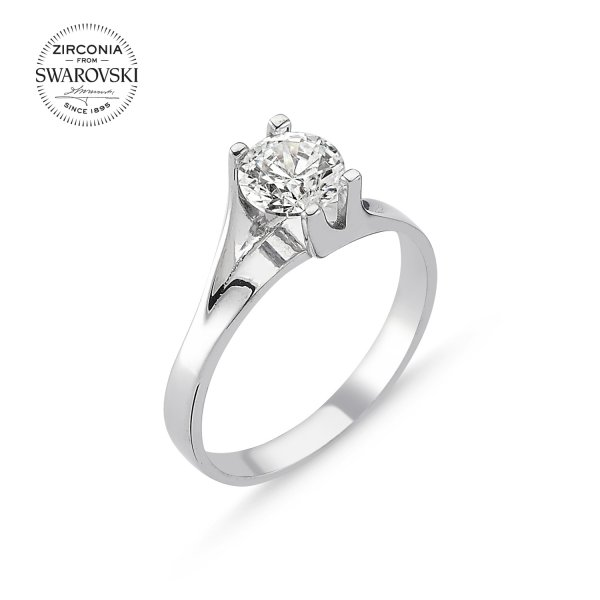 Swarovski Zirconia Solitaire Ring - R82514