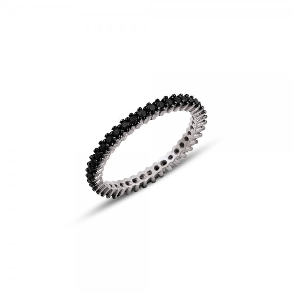CZ Single Line Eternity Ring  - R82579