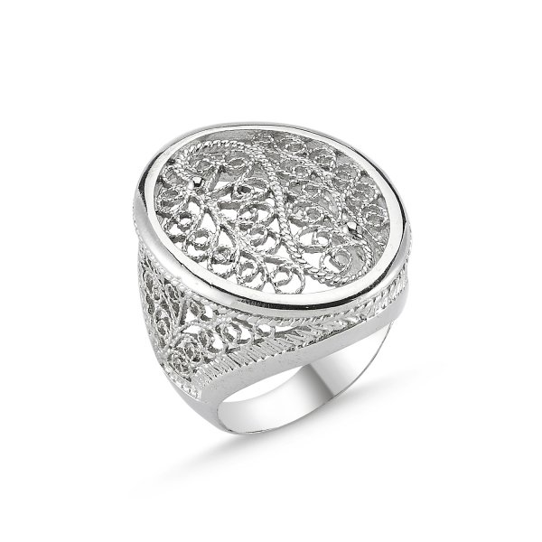 Filigree Ring - R82635
