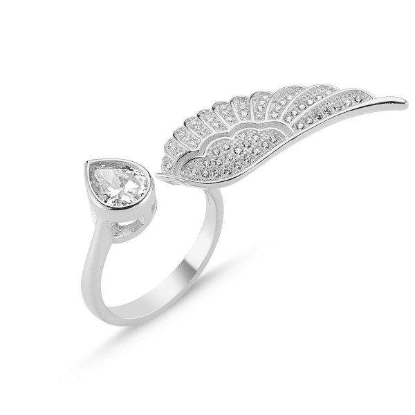 CZ Single Wing Ring  - R82644
