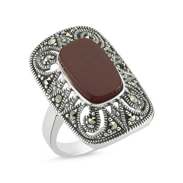 Marcasite Stone Ring - R82734
