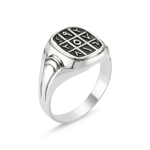 Arabic Abjad Numerology Ring - R82813