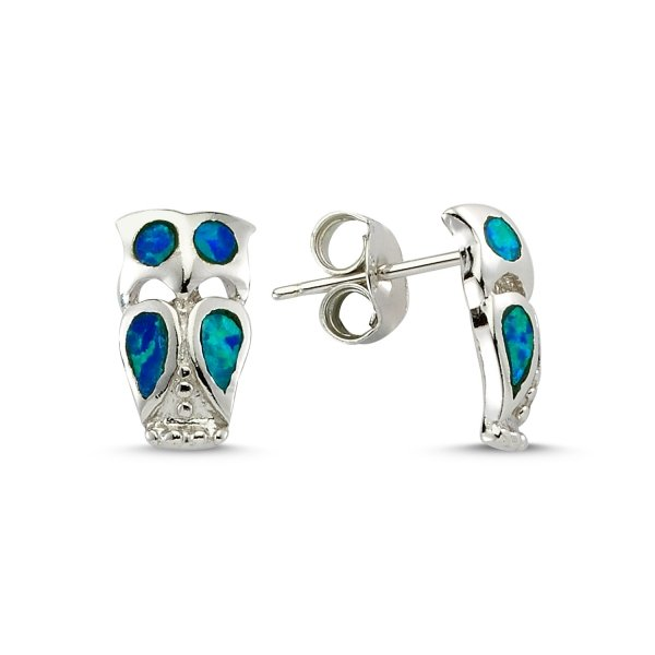Owl Opal Earrings - E83123