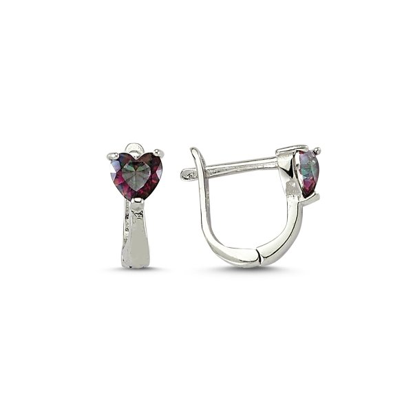 Mystic Topaz CZ Earrings  - E83213