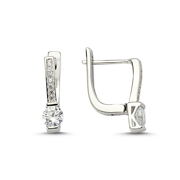 CZ Earrings  - E83257