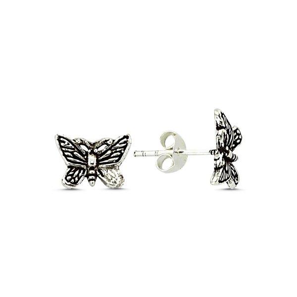 Stoneless Butterfly Earrings - E83296