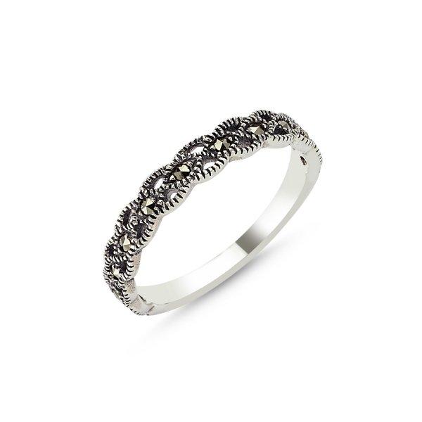 Marcasite Ring - R83411