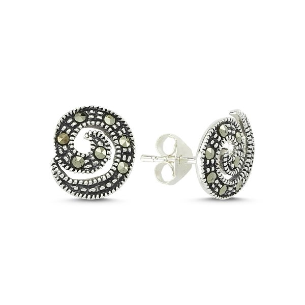 Marcasite Earrings - E83441