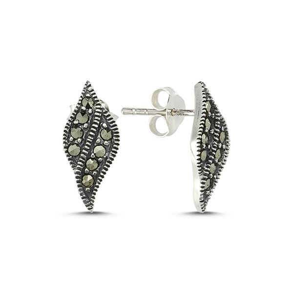 Marcasite Earrings  - E83442
