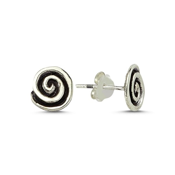 Stoneless Round Earrings - E83543