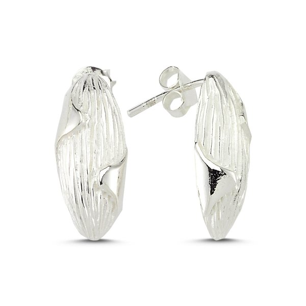 Stoneless Earrings - E83549