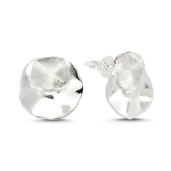 Stoneless Earrings - E83556