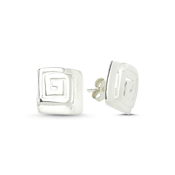 Stoneless Earrings - E83560